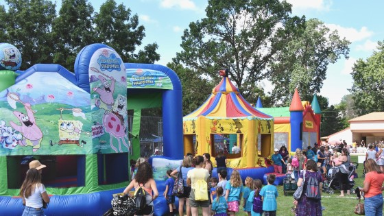 Hartland Kids Day 2019 Bounce Houses