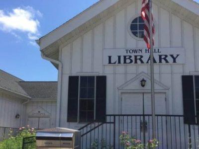 North Lake Town Hall Library Entrance