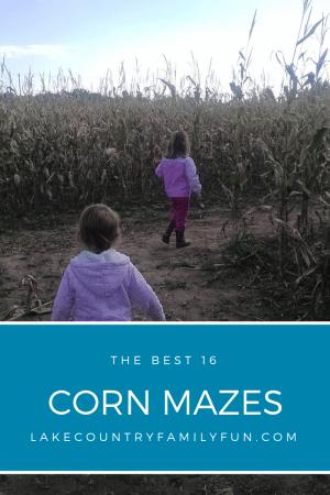 Best Corn Mazes in Waukesha County area Southeastern WI
