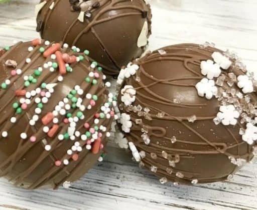 Hot Chocolate Bombs E&S Sweets Shop Small Saturday