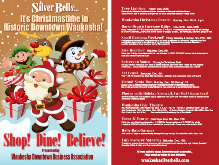 Silver Bells   Holiday Festivities in Downtown Waukesha • Lake
