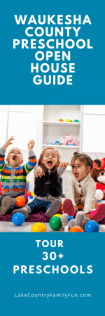 Pinterest Image for Preschool Open House Guide