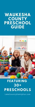 30+ Preschools in Waukesha County