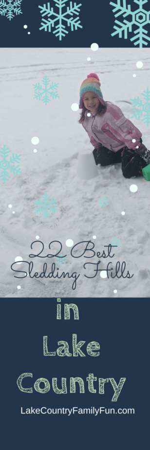Sledding Hills In Lake Country and Waukesha County