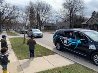 Birthday Day Car Parade Safer at Home