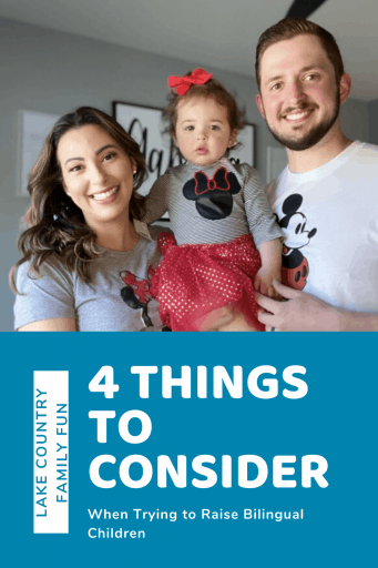 4 Things To Consider When Trying To Raise Bilingual Children