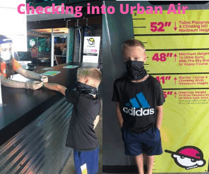 Urban Air Checking in