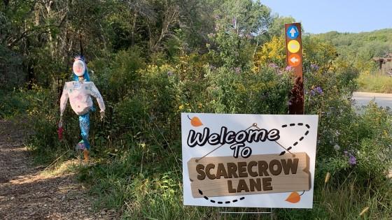 Scarecrow Lane Retzer Nature Center
