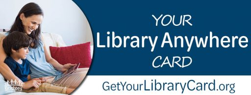 September Library Card Signup graphic