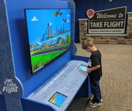Wilderness Resort Attractions Take Flight