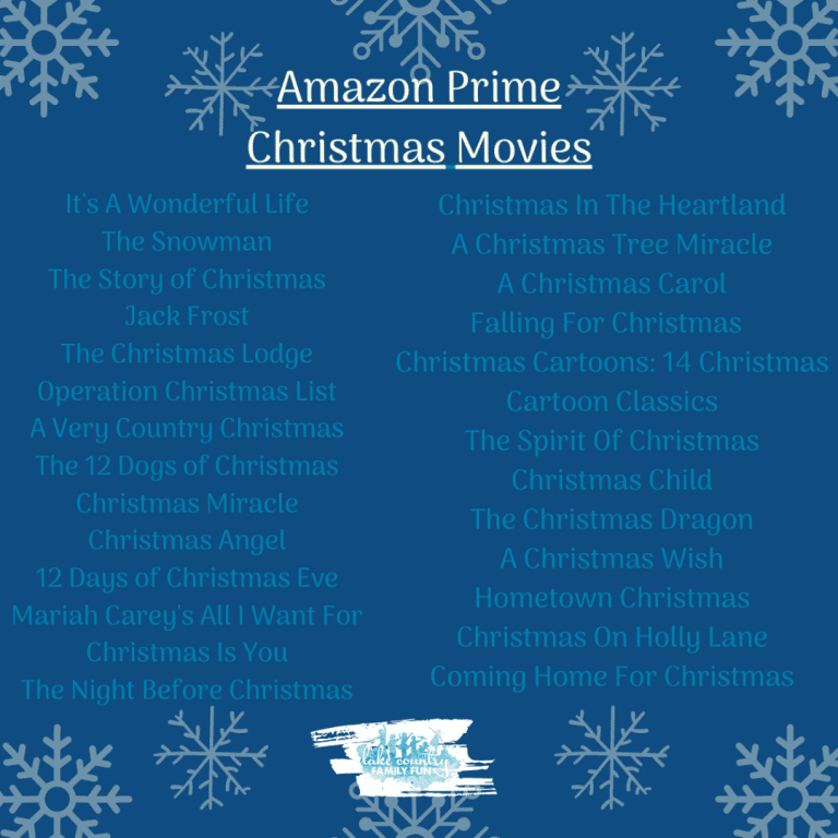 Amazon Prime Christmas Movies night 2020