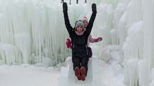 Ice Castles 2020 Erin Slide Winter