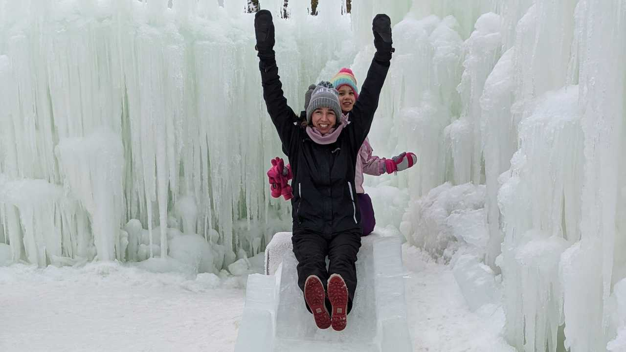 Ice Castles 2020 Erin Slide Winter