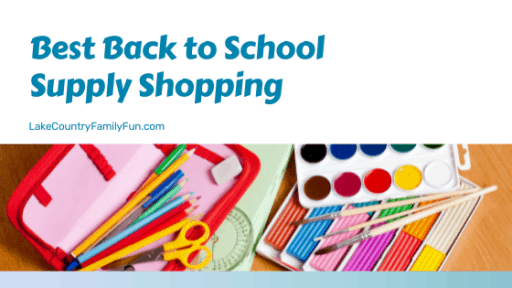 Best Back to School Supply Shopping