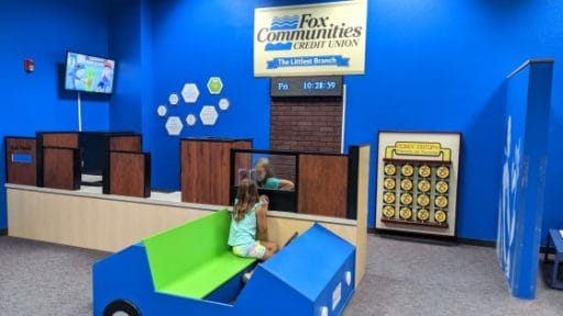 Downtown Appleton Children's Museum bank