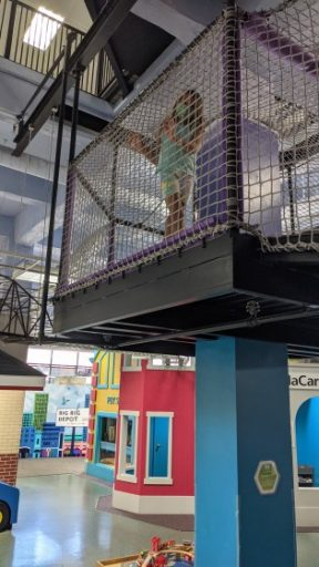 Downtown Appleton Children's Museum climbing