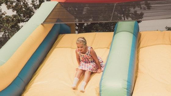 Hartland Kids Day bounce house