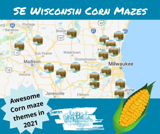 Corn Maze Guide SE WI 2021