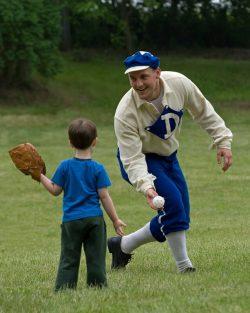 Historic Base Ball Game