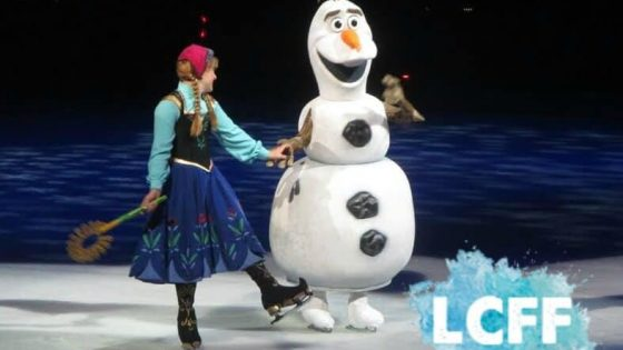 Disney on Ice Review Anna Olaf Lake Country Family Fun