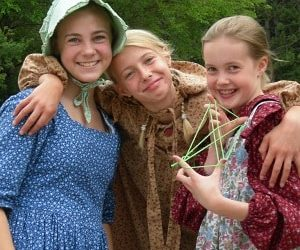 Old World Wisconsin Summer Camp Laura Ingalls Wilder