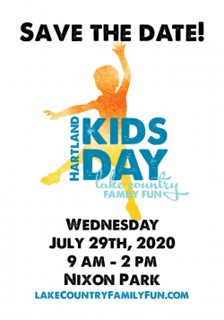 Hartland Kids Day 2020 Nixon Park