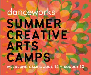 Danceworks SUmmer camp 2021