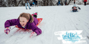 Sledding HIll Guide Waukesha County Lake COuntry