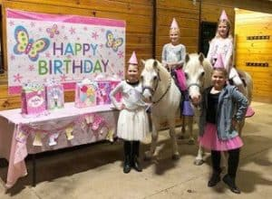 Highland Ridge pony birthday